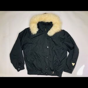 fera Jackets & Coats - FERA Skiwear Fur Trimmed Hooded Ski Coat Jacket